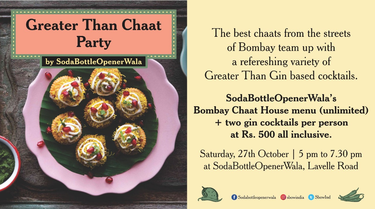 Greater Than Chaat Party