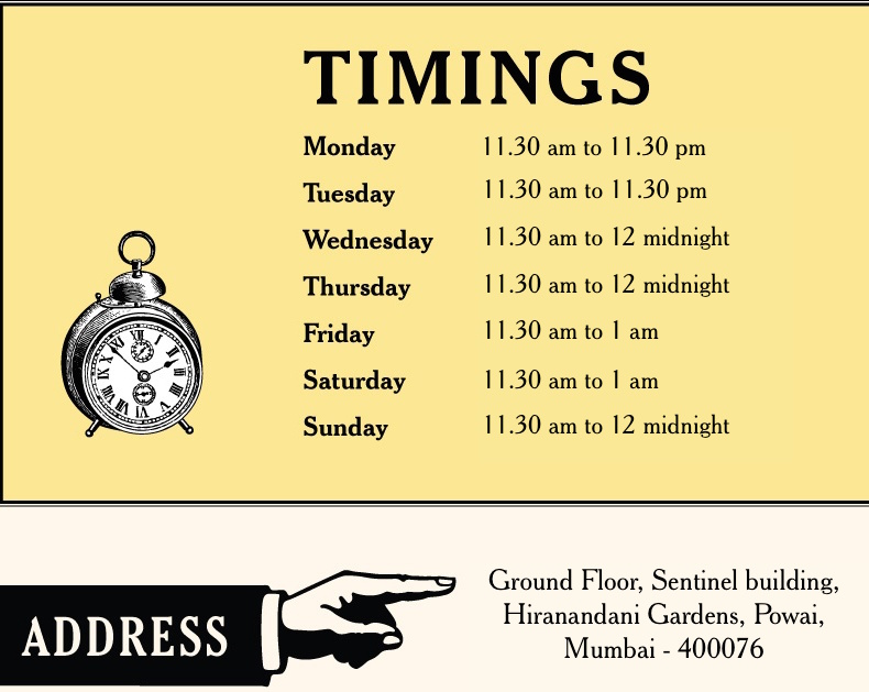 SBOW Powai schedule